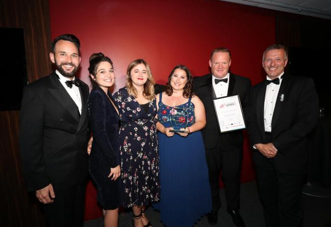 New Place Hotel was winner of the Service Excellence category at the South Coast Business Awards 2019
