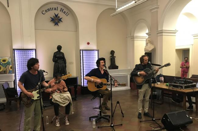 Mystery Jets at St Thomas' Hospital