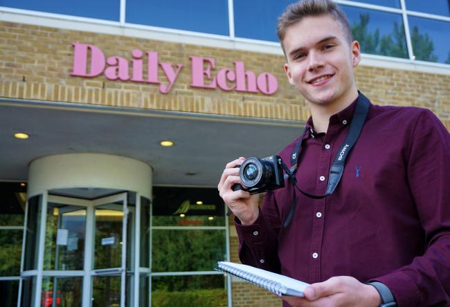 Adam Nixon - Facebook reporter at The Southern Daily Echo...
