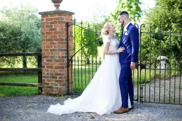 Romsey Advertiser: Charlotte and Christopher (Photo: James Hill - This Life Photography)