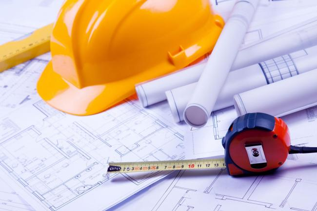 A generic photo of plans for construction on a home and a hard hat. See PA Feature HOMES Building Work. Picture credit should read: PA Photo/thinkstockphotos. WARNING: This picture must only be used to accompany PA Feature HOMES Building Work.