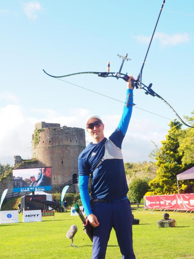 Tom Hall reigned supreme at Caldicot Castle