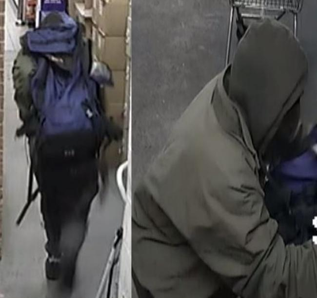 Detectives have released a CCTV image of a man we would like to speak to about a robbery at the Nisa store in West Wellow