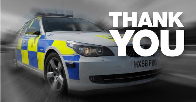 Police have thanked those who helped with their appeal