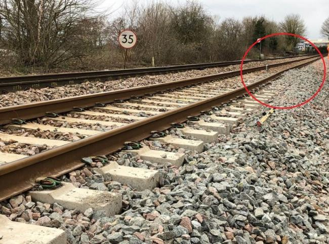 The repair work is expected to take up to two months between Romsey and Salisbury