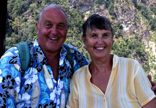Romsey Advertiser: Dave and Di Jesinger