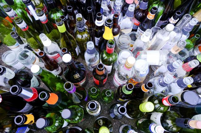 A stock picture of bottles