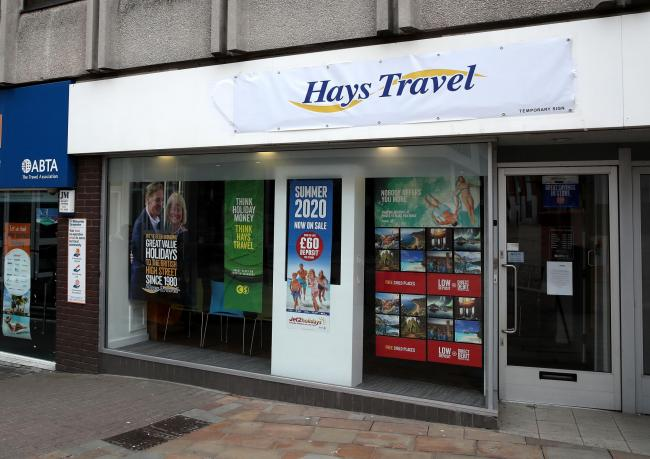 Hays Travel is to cut up to 878 jobs
