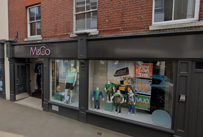 M&Co in Romsey. Photo: Google Street View
