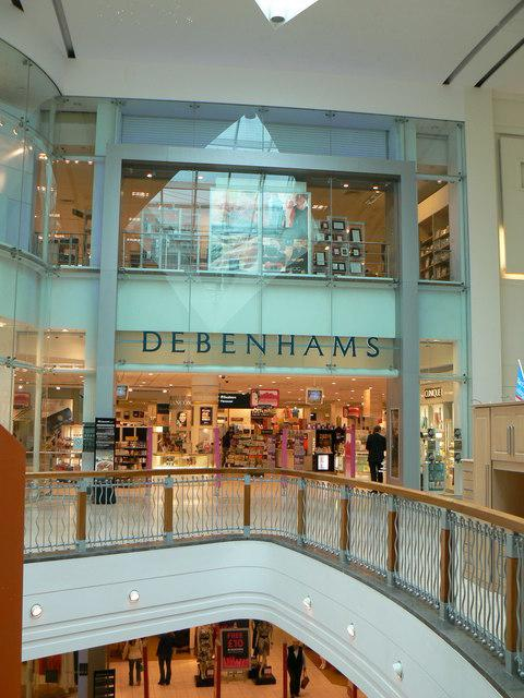 Debenhams in Festival Place. Credit: Wikicommons