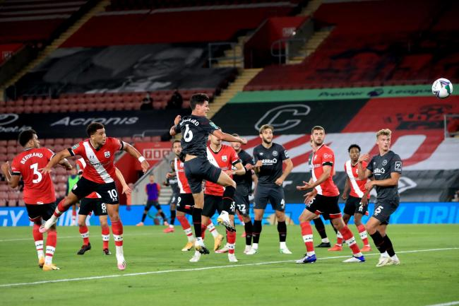 Southampton v Brentford – Carabao Cup – Second Round – St Mary's Stadium