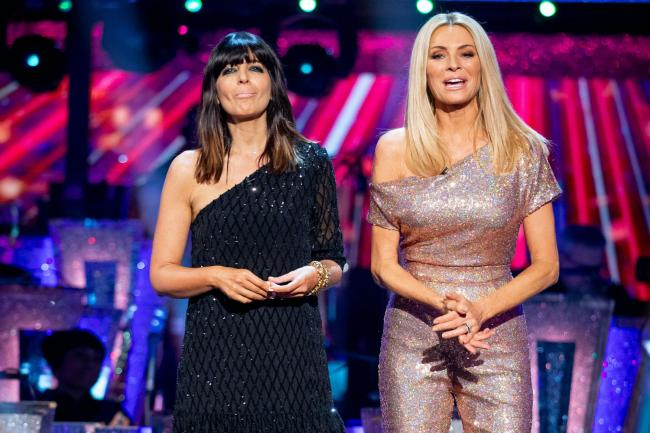Strictly Come Dancing presenters Claudia Winkleman and Tess Daly