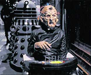 Davros, leader of the Daleks, will be one of many film and tv characters attending the fair