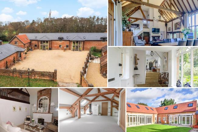 Look Inside six stunning Hampshire barn conversions perfect for any budget