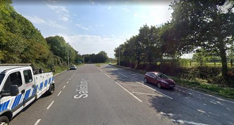 A36 near Ower Roundabout. Photo from: Google Maps
