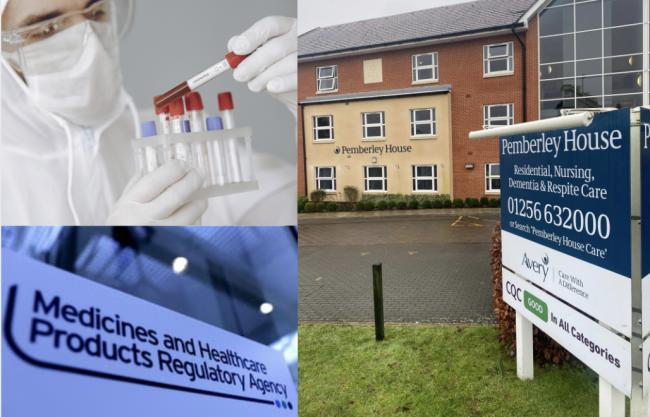 Coronavirus outbreak: Vaccines not related to care home deaths, says agency