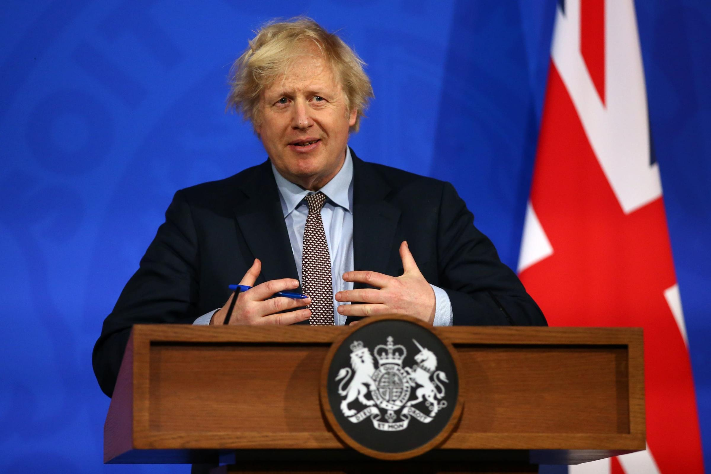 Prime Minister Boris Johnson. Picture: PA