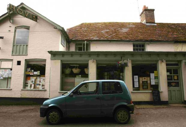 The shop in West Meon