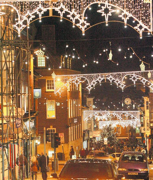 Winchester Christmas Lights switch-on: date announced