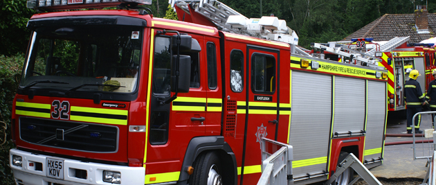 Winchester man saved from house fire after climbing onto his roof