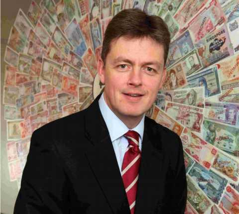 De La Rue chief executive Tim Cobbold