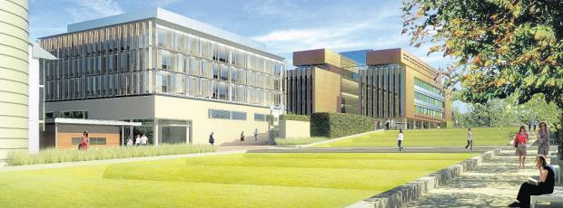 The Boldrewood Campus plans for the University of Southampton