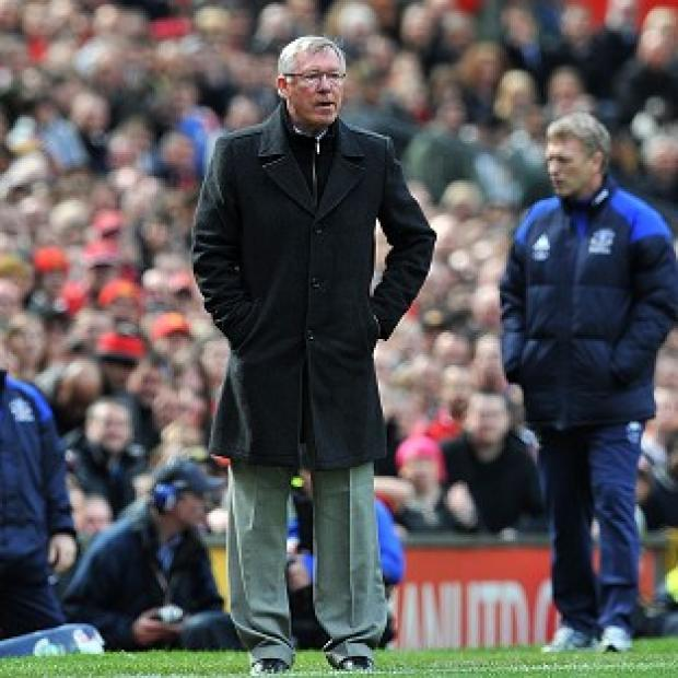 Sir Alex Ferguson (left)
