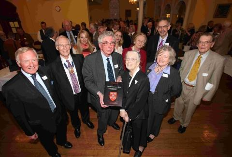 The Winchester Mint is launched at the Old Museum at Winchester College