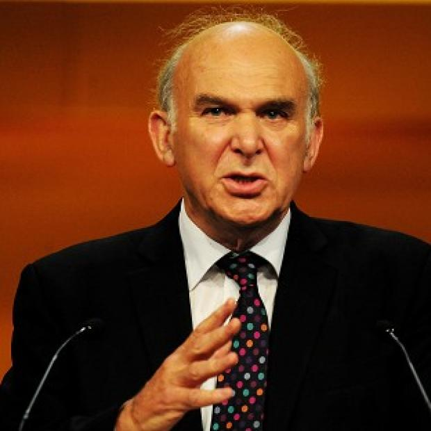 Business Secretary Vince Cable has exchanged text messages with Labour leader Ed Miliband