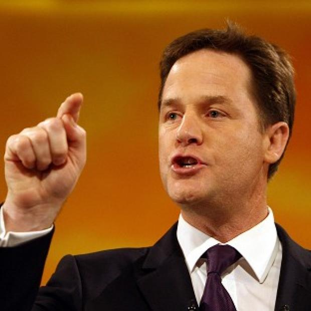 Deputy Prime Minister Nick Clegg said perpetrators of domestic violence will 'not be tolerated'