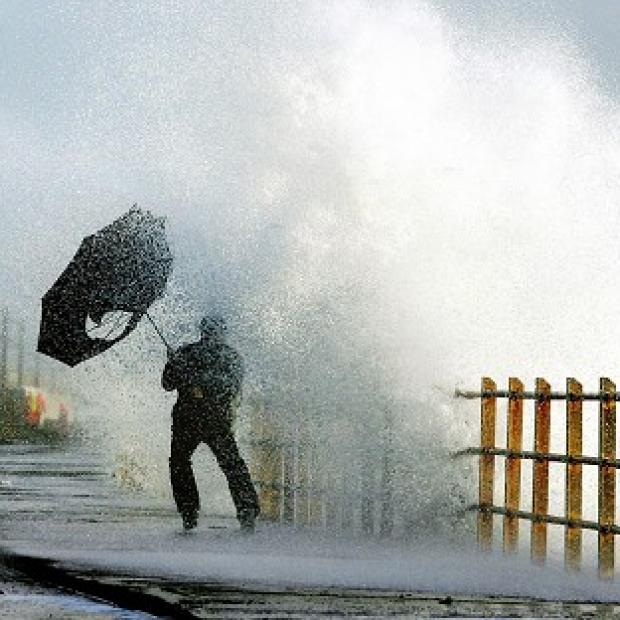 Heavy rain and severe gales are expected across vast parts of Britain