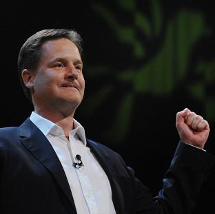 Nick Clegg has outlined his vision of the future at the Liberal Democrat party conference