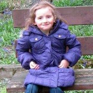 April Jones in the coat she was wearing when she was abducted (Dyfed-Powys Police/PA)