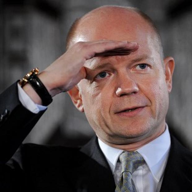 William Hague is expected to say that British people feel that in too many ways the EU is something that is 'done to them'