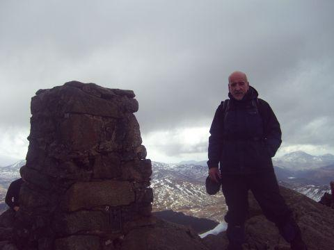 Experienced mountaineer Nigel James, pictured in North Wales
