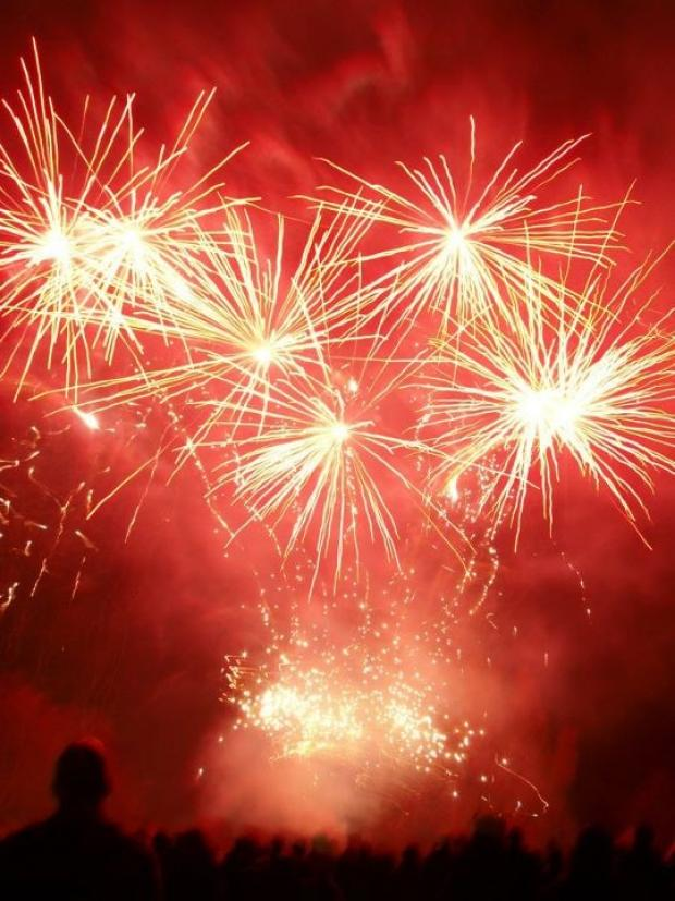 Open sight has warned families to take precautions around fireworks