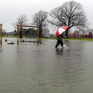 Five flood warnings and 16 alerts have been issued for the whole of Wales