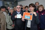 'Protect our NHS' campaign takes to the streets