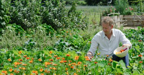 Former River Cottage head gardener Mark Diacono