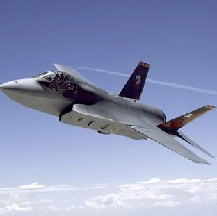 A Lockheed Martin F-35 Joint Strike Fighter