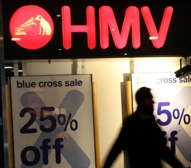 Another 37 HMV branches will close but Winchester is not among them