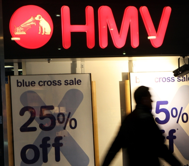 Another 37 HMV branches will close b
