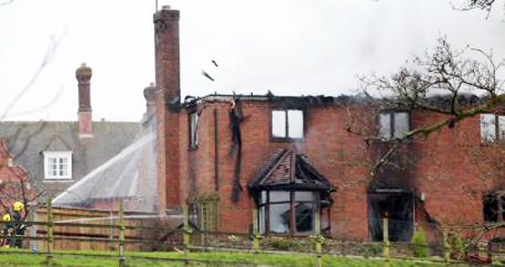 Pensioner rescued from house fire in grounds of Stroud School