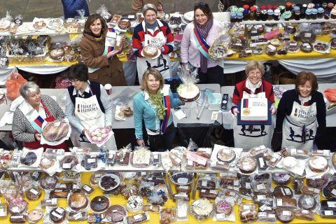 Romsey Advertiser: The 2010 cake sale was a colossal success.
