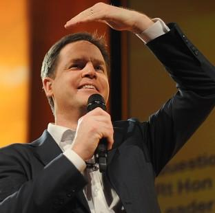 Nick Clegg urges Liberal Democrats turn their fire on the Conservatives