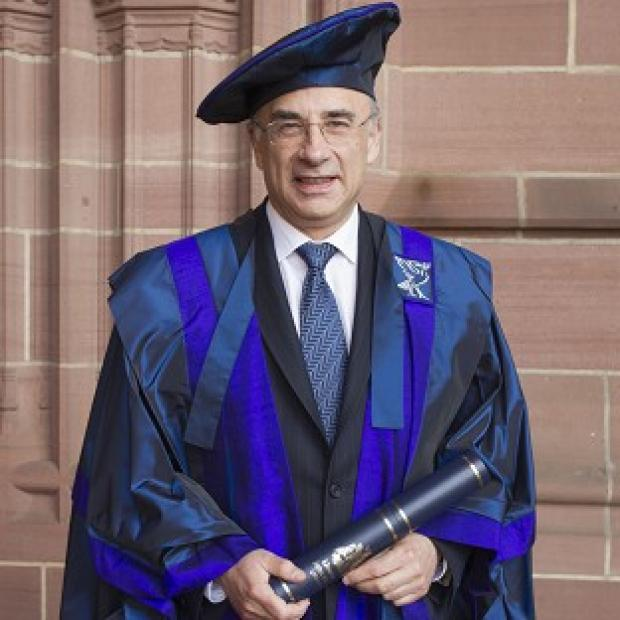 Lord Justice Leveson will be known in his new role as Sir Brian Leveson (Liverpool John Moores University/PA)