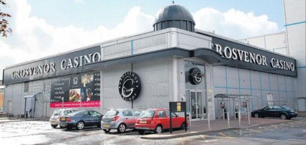 The Grosvenor Casino at LeisureWorld, Southampton.