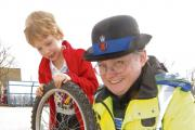 Police will be carrying out cycle coding at the Crosfield Hall