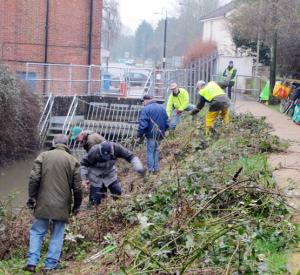 Spring clean for town's waterways