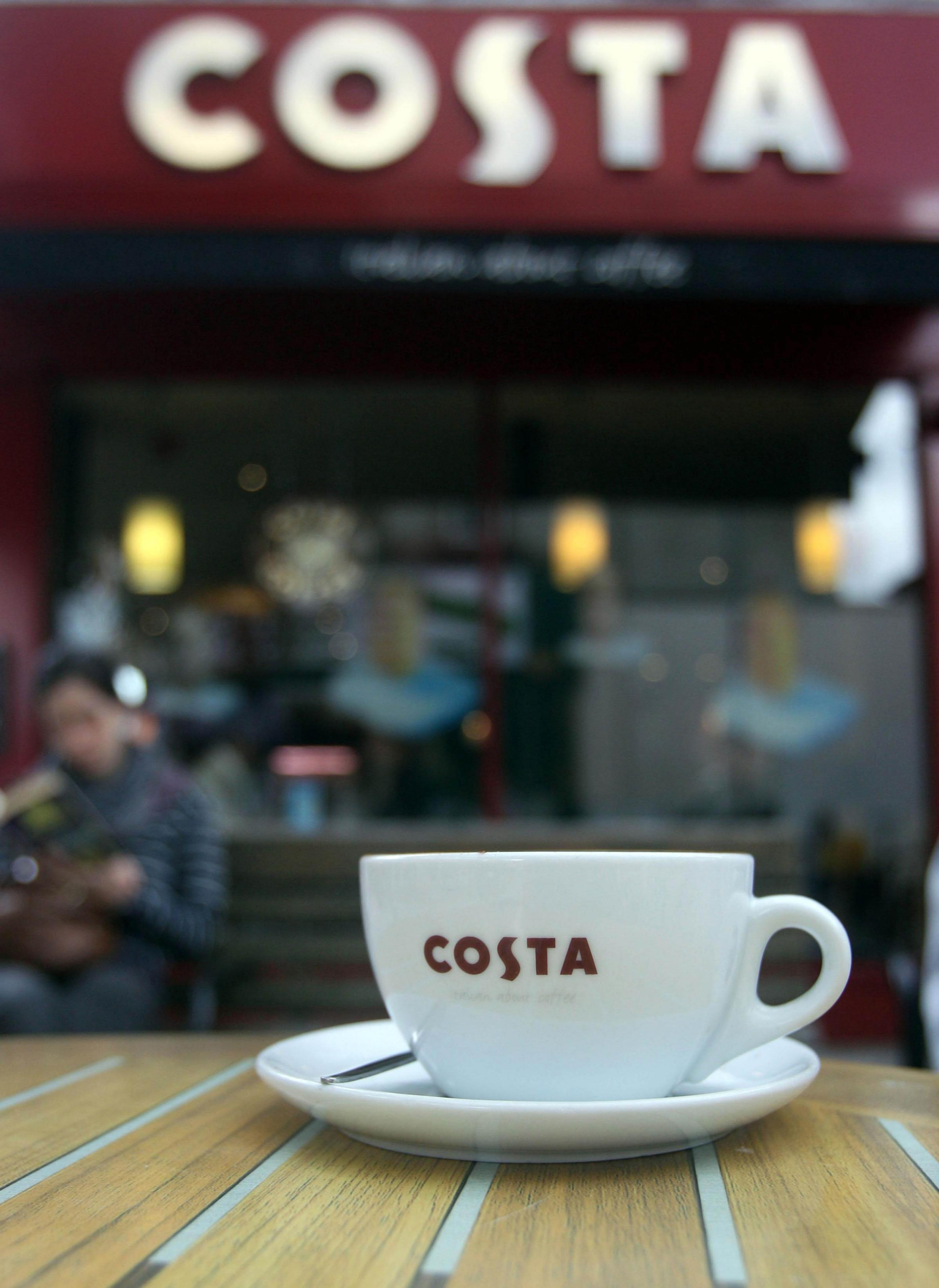Costa closes Winchester branch